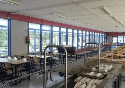 Réfectoire tartine ou sandwichs