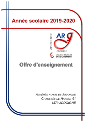 Grilles horaire – Global 2019-2020